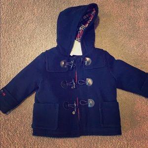 NWT Baby gap hooded coat
